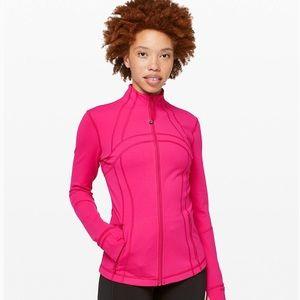 Lululemon Hot Pink Define Jacket Size 6